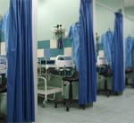 MRSA Contaminates Hospital Privacy Curtains