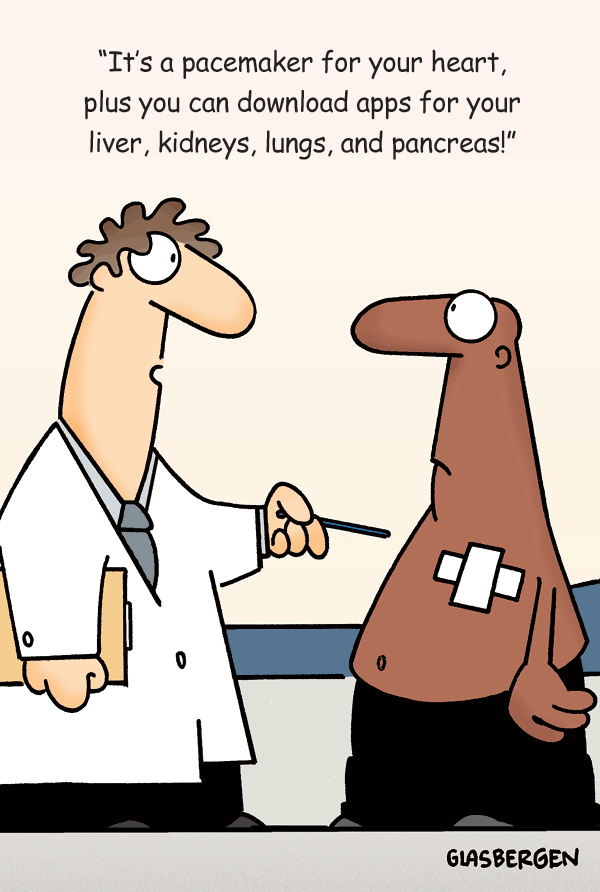 Pacemaker Apps Cartoon