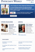 Physician's Weekly-ADA Diabetes Newsletter