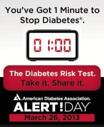 Diabetes Alert Day: Take it. Share it.