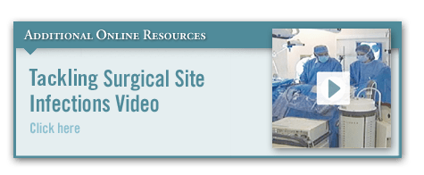 Reducing SSIs in Colorectal Surgery