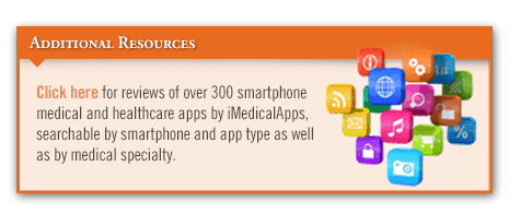 Even in Medicine, There's an App for That