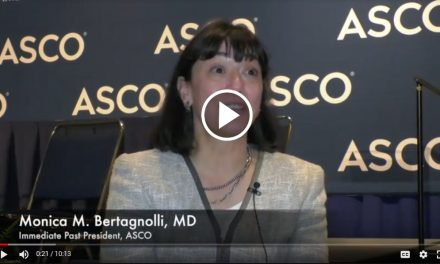 ASCO 2019 VIDEO: Monica M. Bertagnolli, MD, Immediate Past-President, ASCO