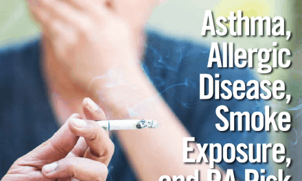 Asthma, Allergic Disease, Smoke Exposure, and RA Risk