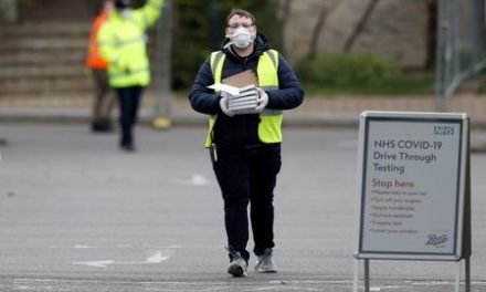 UK coronavirus death toll rises to 2,921, up 24% in a day