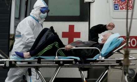 Russia's coronavirus cases surge past 100,000 after record daily rise